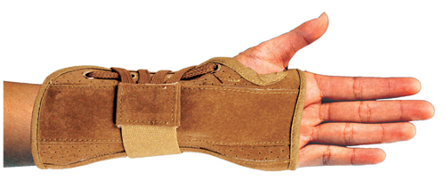 Bell-Horn Wrist Brace Suede Medium Right 6.5 - 7.5