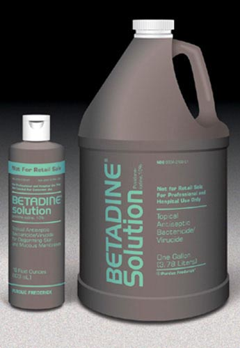 Betadine Solution- Gallon (Each)