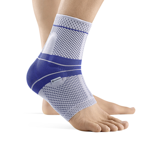 MalleoTrain Ankle Support Sz 3 Left Cir: 8-1/4 -9 Gray