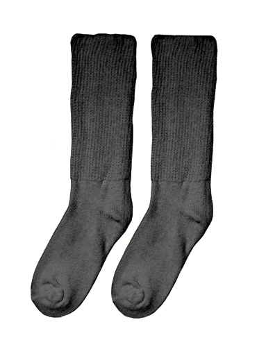 Diabetic Socks - Extra Large (10-13) (pair) Black