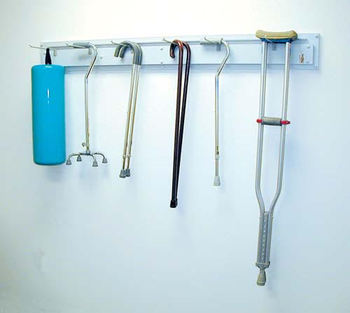Cane and Crutch Rack