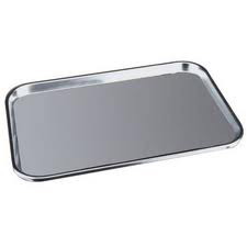 Meal Tray 21 x 16 Stainless Steel
