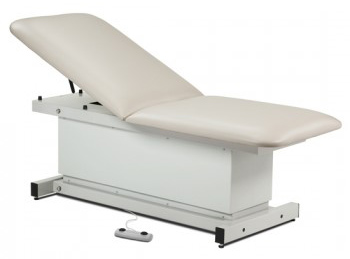 Shrouded Power Table with Adj Backrest 72 x27 x21-34