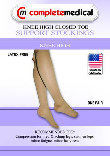 X-Frm Surg Weight Stkngs Large 30-40mmHg Below Knee Clsd Toe